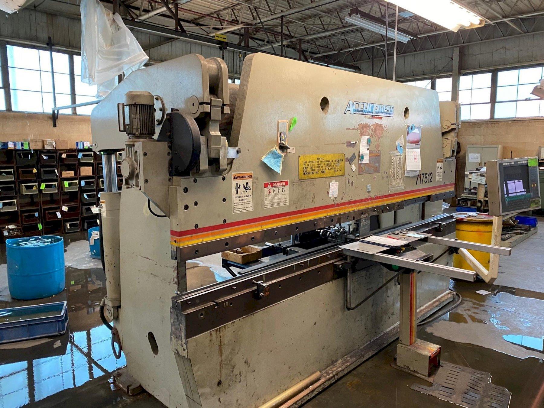 175 Ton x 12' Accurpress Hydraulic CNC Press Brake