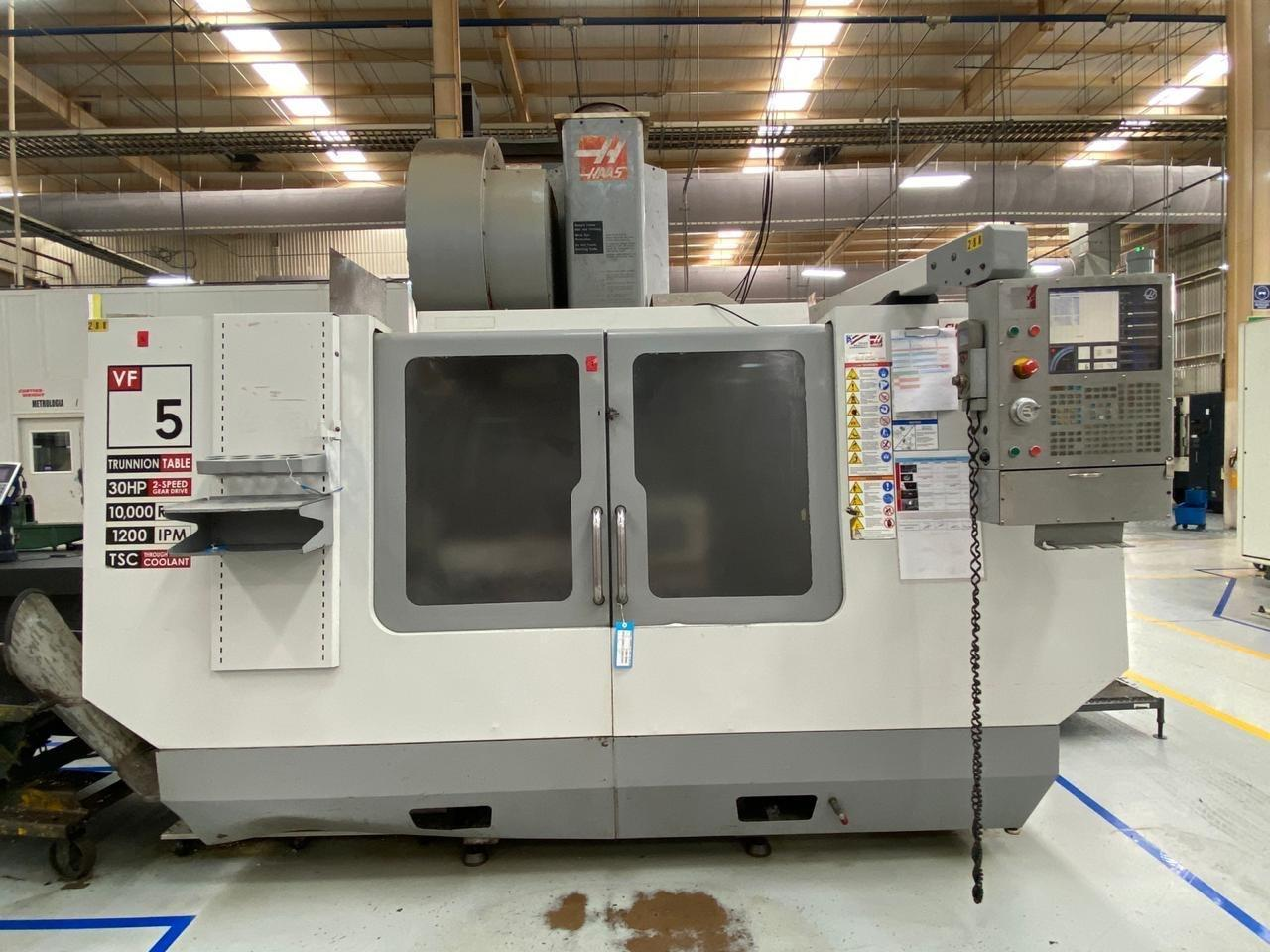 Haas VF-5B/40TR CNC Vertical Machining Center