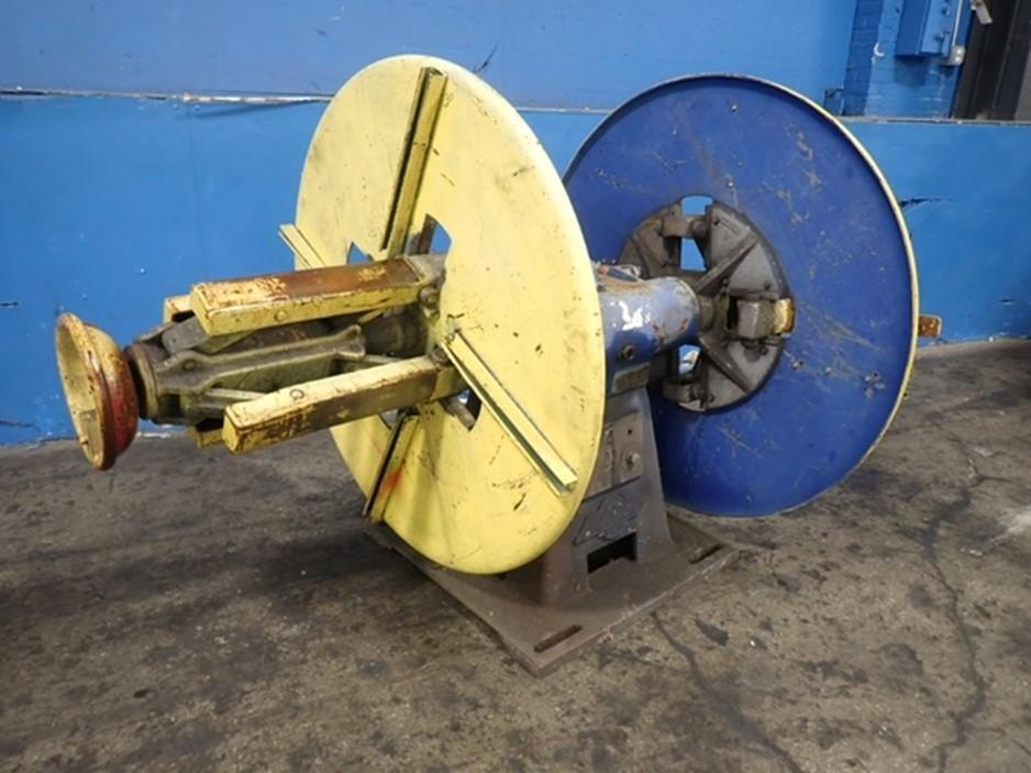 LITTELL Double End Coil Reel Uncoiler 4,000 lb x 18