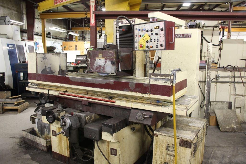 "16"" X 32"" CHEVALIER MODLE #FSG1632AD HORIZONTAL 3 AXIS SURFACE GRINDER: STOCK 12711"