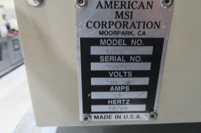 Apex American MSI Used APEX-8 Hot Runner Controller, 7-12 zones, 240V