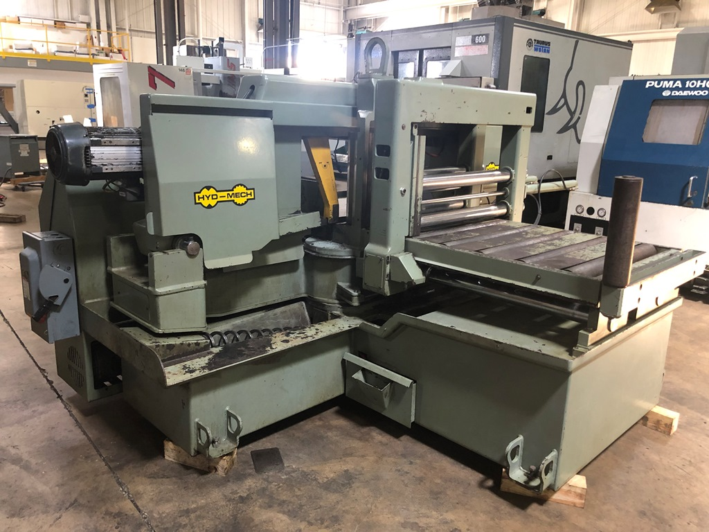 "16"" X 25"" HYD-MECH M16A AUTOMATIC MITRE CUTTING HORIZONTAL BANDSAW"
