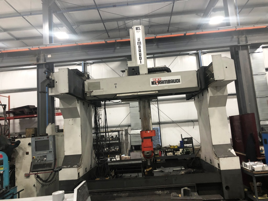 RAMBAUDI B 27-L 5-AXIS  MULTIFUCNCTION HIGH SPEED CNC VERTICAL MACHINING CENTER
