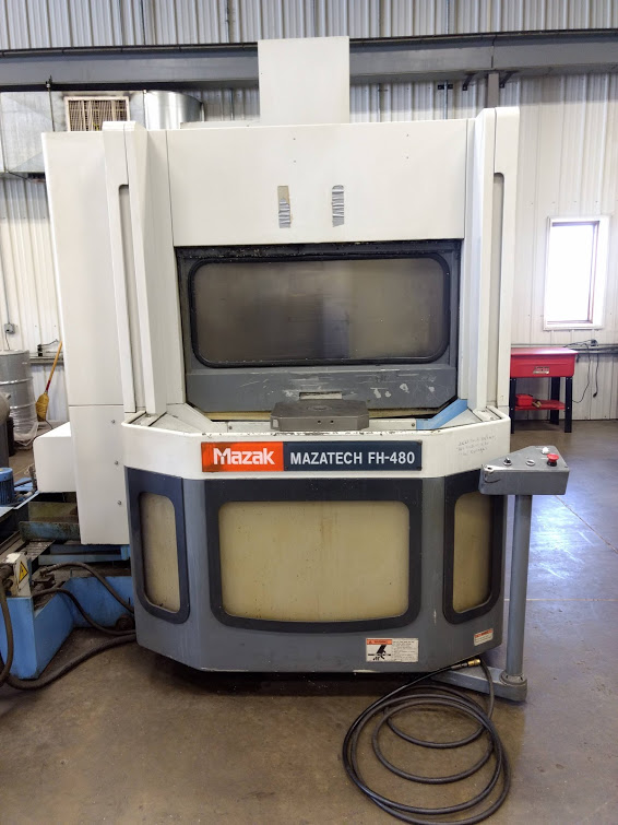 Mazak FH-480 Horizontal Machining Center
