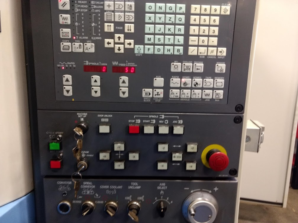 Mazak FH-480 Horizontal Machining Center