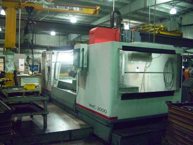 CINCINNATI ARROW 2000 MODEL ERD CNC VERTICAL MACHINING CENTER