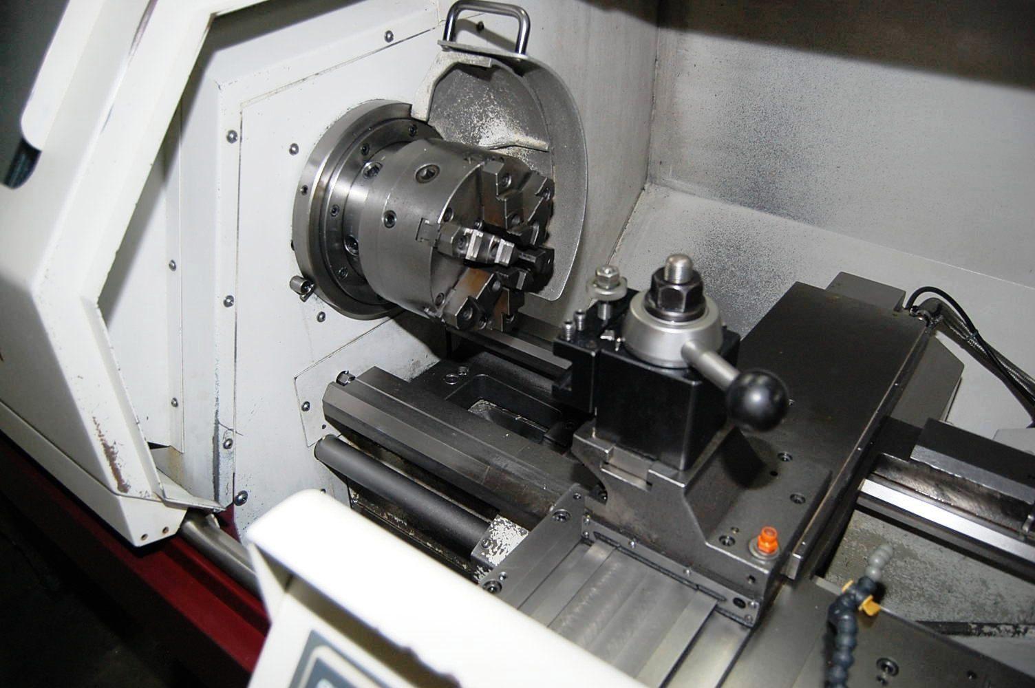 HARRISON ALPHA 400T CNC GAP BED TURNING MACHINE