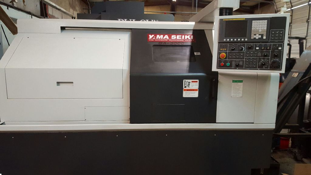 YAMA SEIKI GA-3000 CNC TURNING CENTER