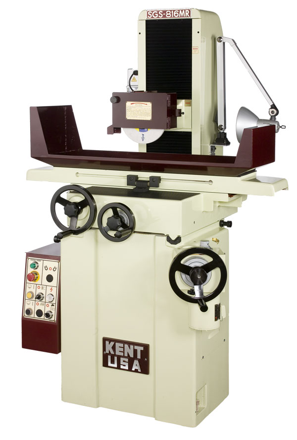 """8"""" x 16"""" KENT USA SGS-816M MANUAL HAND FEED GRINDER - NEW"""