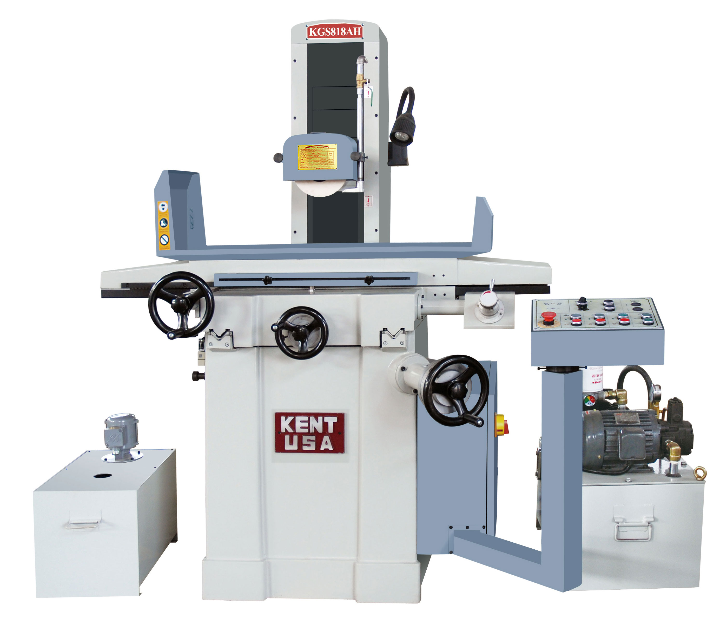 """8"""" x 18"""" KENT USA KGS-818AH AUTOMATIC SURFACE GRINDER - NEW"""