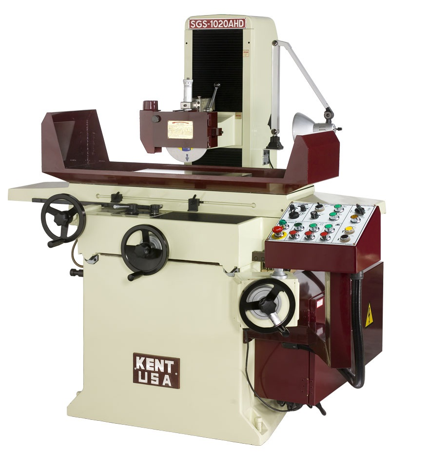 """10"""" x 20"""" KENT USA SGS-1020 AHD AUTOMATIC SURFACE GRINDER - NEW"""