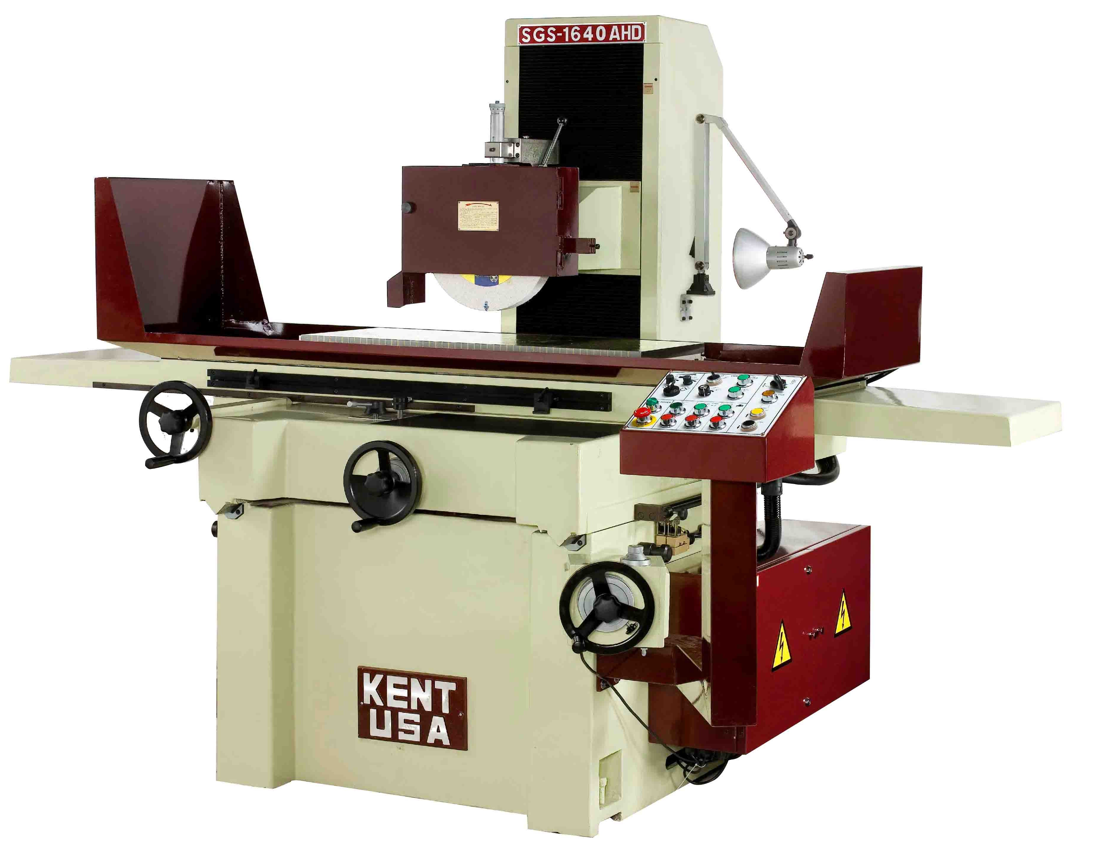 """16"""" x 40"""" KENT USA SGS-1640 AHD AUTOMATIC SURFACE GRINDER - NEW"""