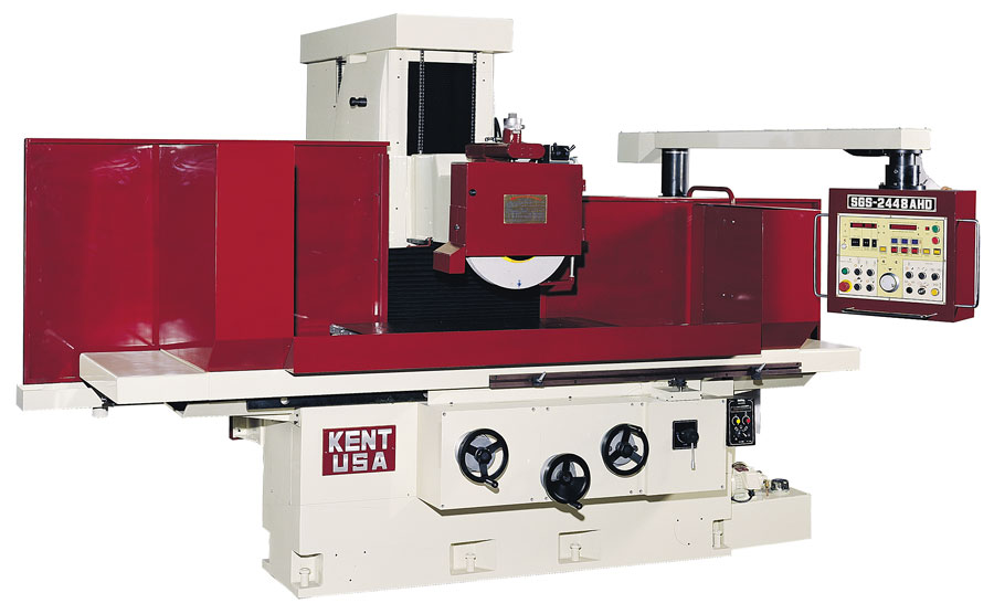 """24"""" x 48"""" KENT USA SGS-2448 AHD AUTOMATIC SURFACE GRINDER - NEW"""