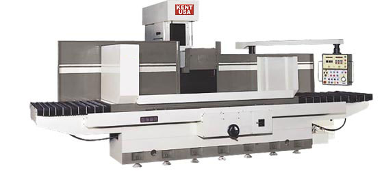 """34"""" x 128"""" KENT USA SGS-34128 AHD AUTOMATIC SURFACE GRINDER - NEW"""