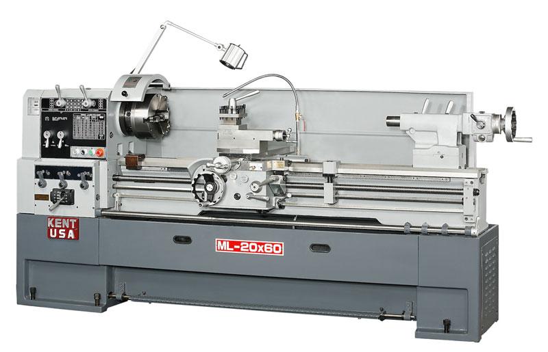 "20"" x 60"" KENT USA ML-2060T MANUAL PRECISION LATHE - NEW"