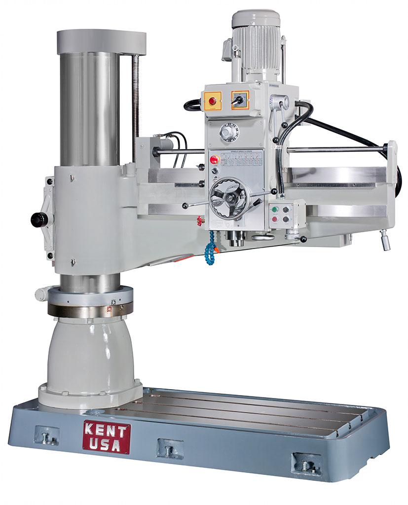 "8.26"" x 40"" KENT USA TPR-920A RADIAL ARM DRILL - NEW"