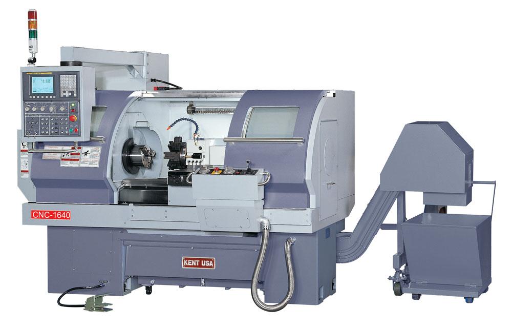 KENT USA MODEL CRL-1640 CNC PRECISION LATHE - NEW