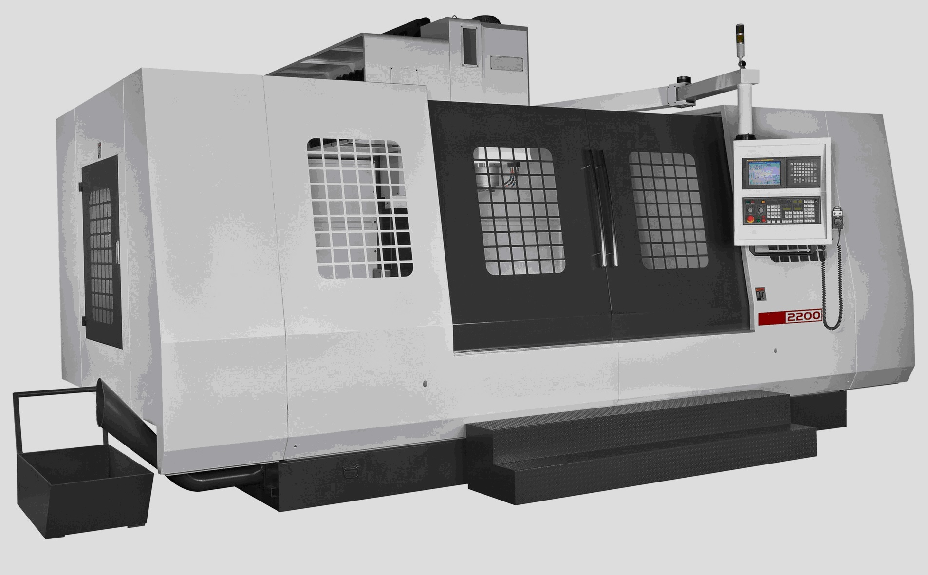 KENT USA KVR-2200 BOX WAY VERTICAL MACHINING CENTER - NEW