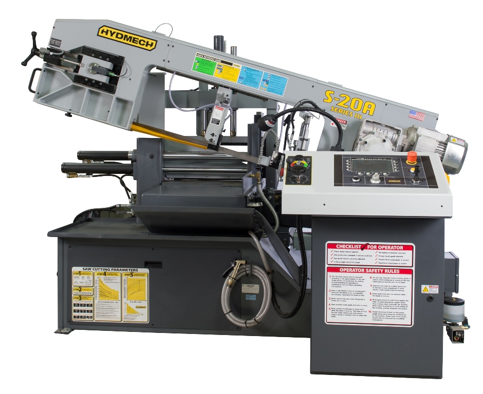 "NEW 13"" x 18"" HYD-MECH MODEL S-20A AUTOMATIC HORIZONTAL PIVOT BAND SAW"