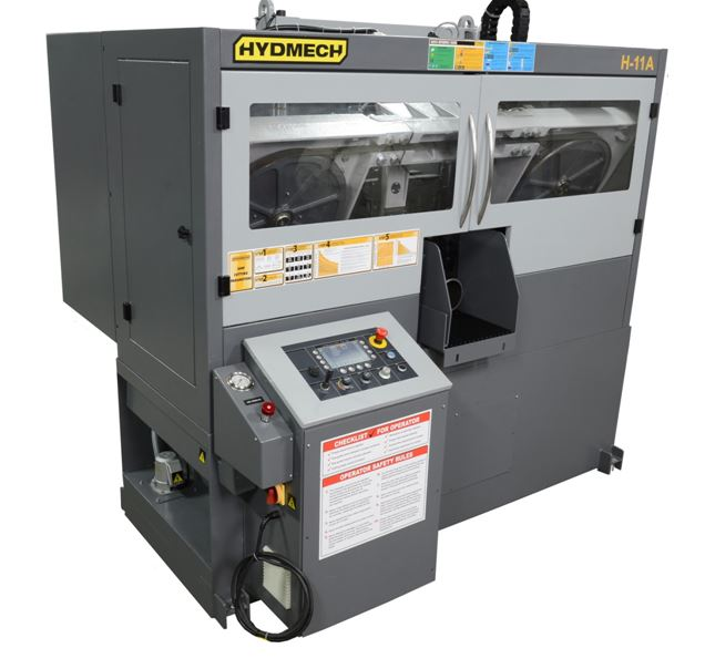 "NEW 12.5""H x 12.5""W HYD-MECH H-320A AUTOMATIC HORIZONTAL BAND SAW"