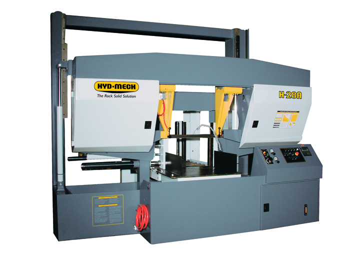 "NEW 28""H x 28""W HYD-MECH H-28A-120 AUTOMATIC HORIZONTAL BAND SAW"