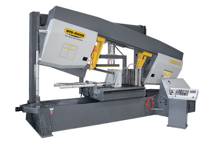 "NEW 26""H x 42""W HYD-MECH H-26/42 SEMI AUTOMATIC HORIZONTAL BAND SAW"