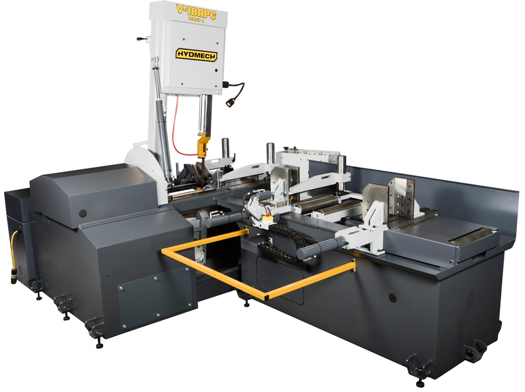 "NEW - 31""H x 18""W HYD-MECH V-18APC AUTOMATIC VERTICAL TILT FRAME BAND SAW"