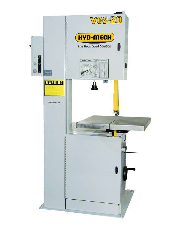 "NEW 20"" HYD-MECH VCS-20VSD VERTICAL COUNTOUR BAND SAW"