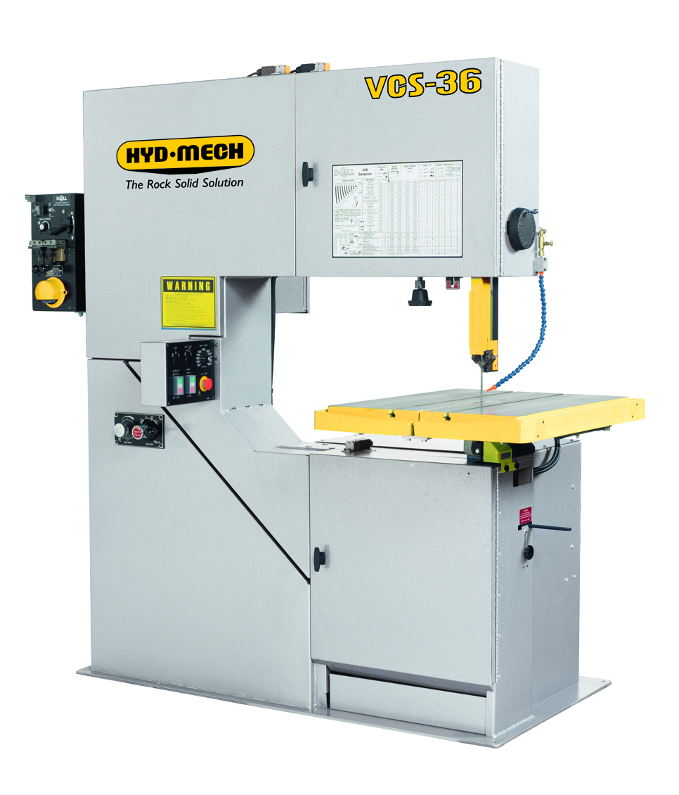 "NEW 36"" HYD-MECH VCS-36VSD VERTICAL COUNTOUR BAND SAW"