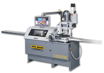 NEW HYD-MECH C350-2CNC  AUTOMATIC VERTICAL COLUMN COLD SAW