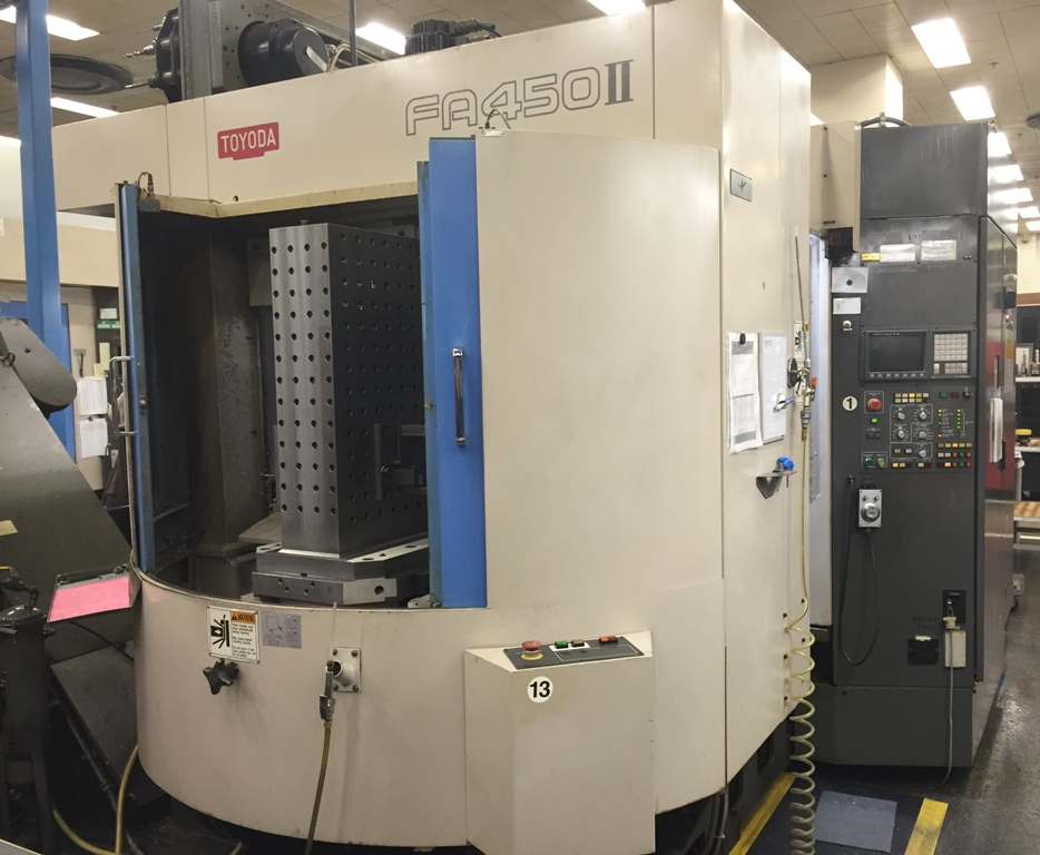 TOYODA FA450 II HORIZONTAL MACHINING CENTER,