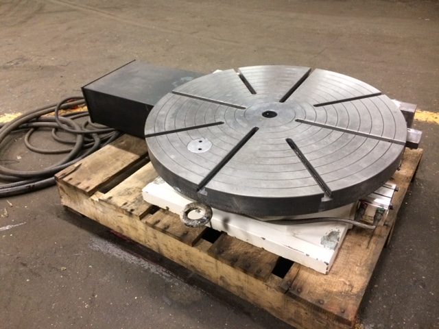 """25"""" TROYKE MODEL DL-25A ROTARY TABLE"""