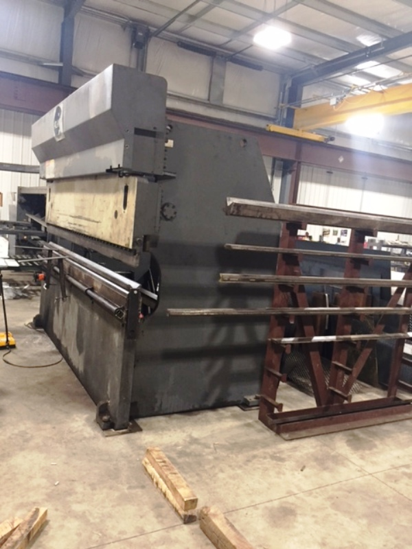 200 TON X 12' HACO ATLANTIC  MODEL HCE2001210 HYDRAULIC PRESS BRAKE