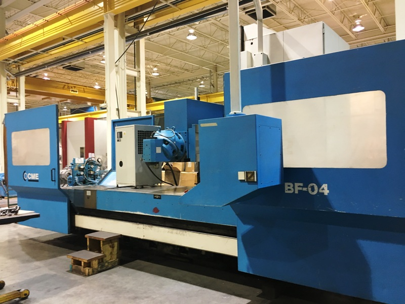 CME MODEL BF-04 3-AXIS CNC BED MILL