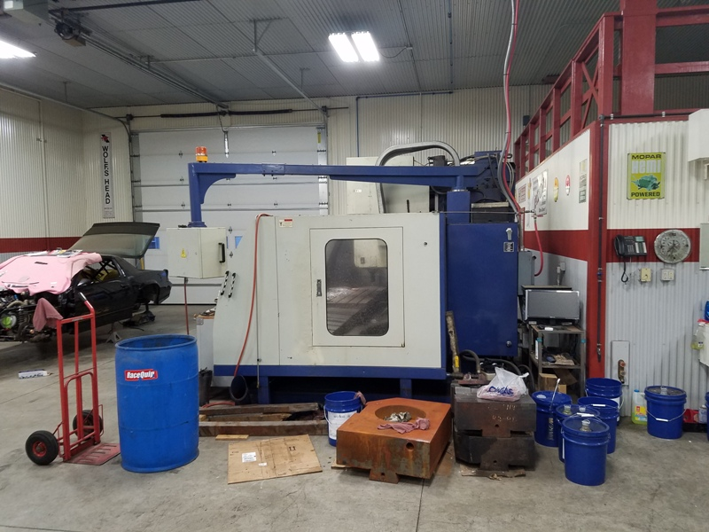 2001 Mighty Viper VMC-1600A Vertical Machining Center