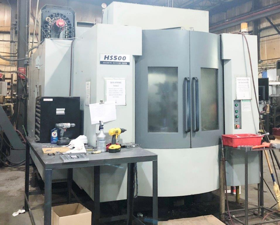 2011 Hyundai Wia HS500 Horizontal Machining Center