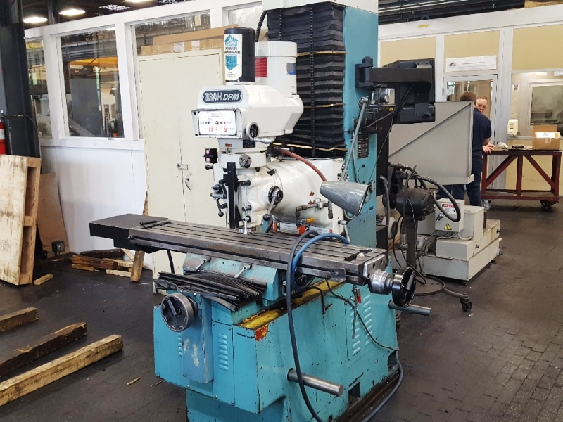 SOUTHWESTERN INDUSTRIES TRAK DPM 3-AXIS CNC BED MILL