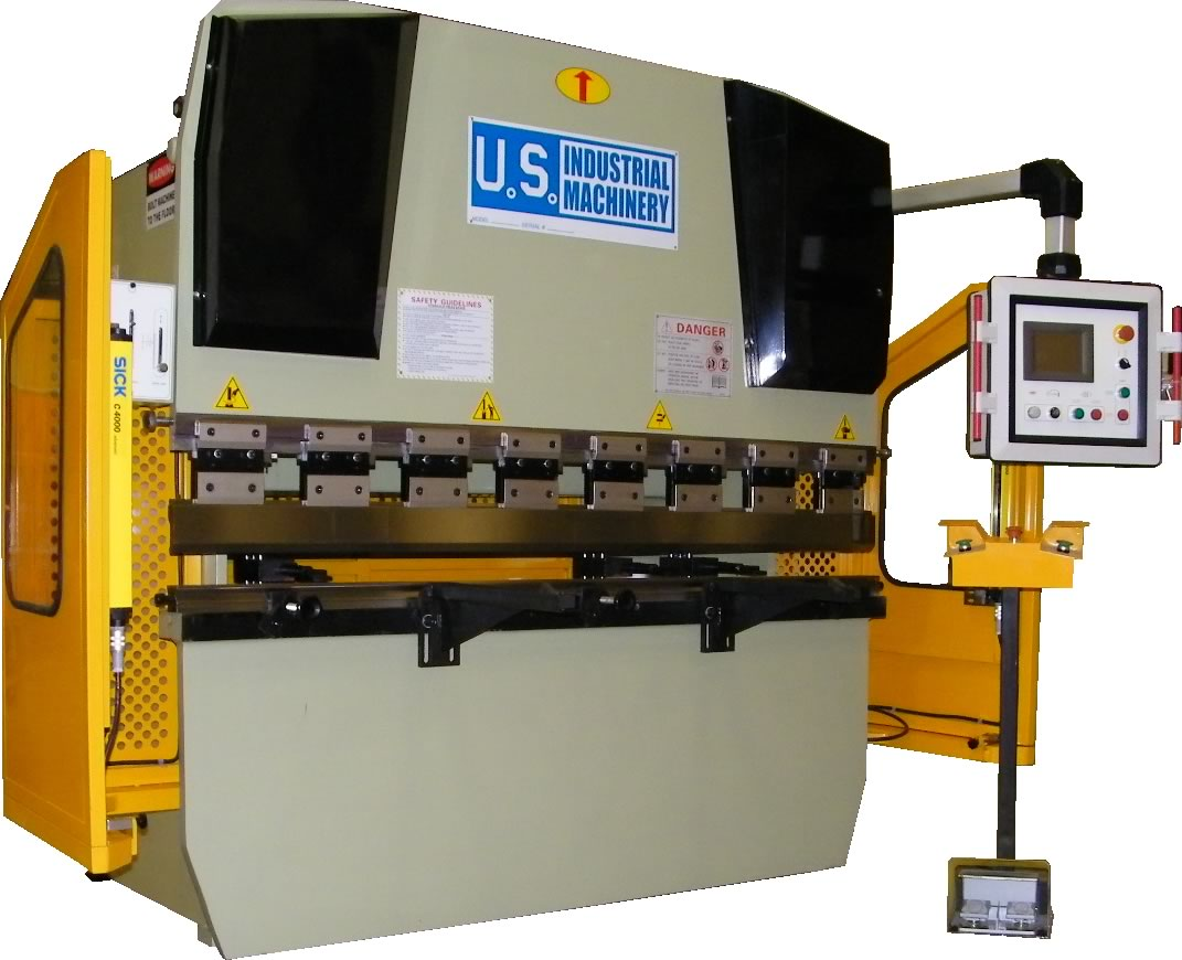 NEW 44 TON x 6' US INDUSTRIAL MODEL USHB44-6 CNC HYDRAULIC PRESS BRAKE