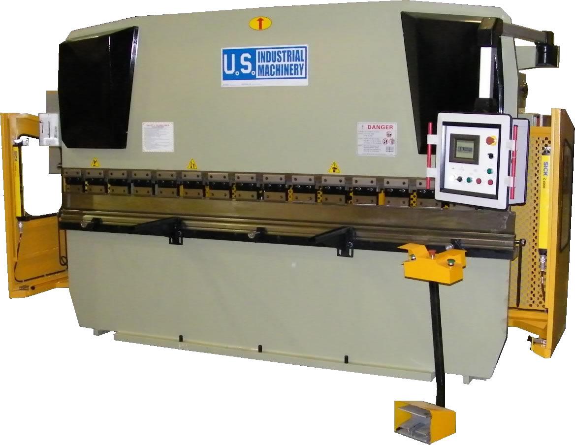 NEW 155 TON x 10' US INDUSTRIAL MODEL USHB155-10 CNC HYDRAULIC PRESS BRAKE