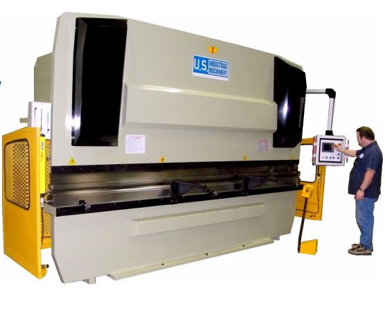 NEW 200 TON x 10' US INDUSTRIAL MODEL USHB200-10 CNC HYDRAULIC PRESS BRAKE
