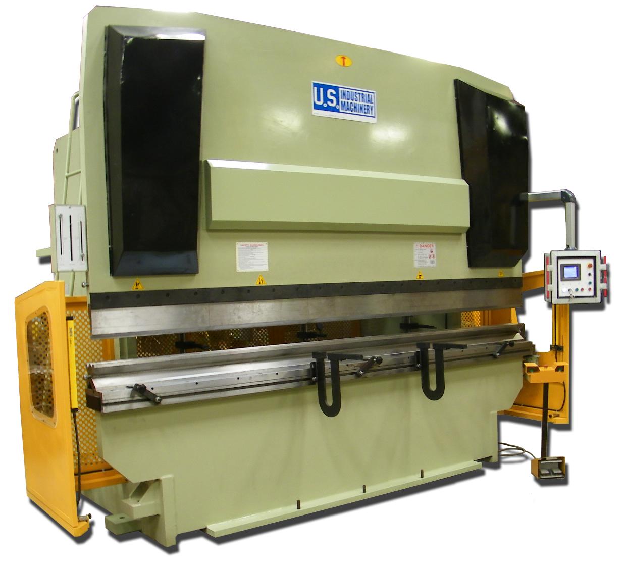 NEW 330 TON x 13' US INDUSTRIAL MODEL USHB330-13 CNC HYDRAULIC PRESS BRAKE WITH AUTO CROWN