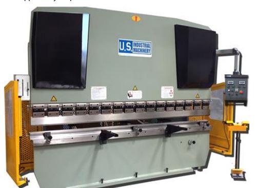 NEW 125 TON x 10' US INDUSTRIAL MODEL USHB125-10HM HYDRAULIC PRESS BRAKE