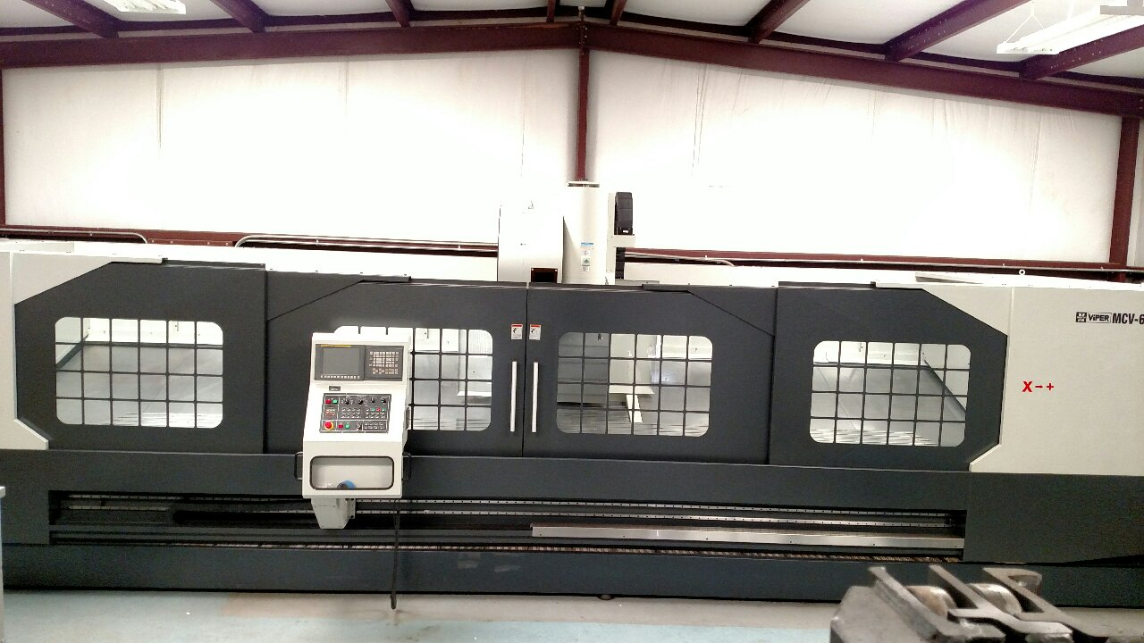MIGHTY MCV-6060 MOVING COLUMN VERTICAL MACHINING CENTER