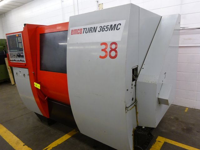 EMCOTURN 365MC PLUS 6-AXIS CNC TURNING CENTER