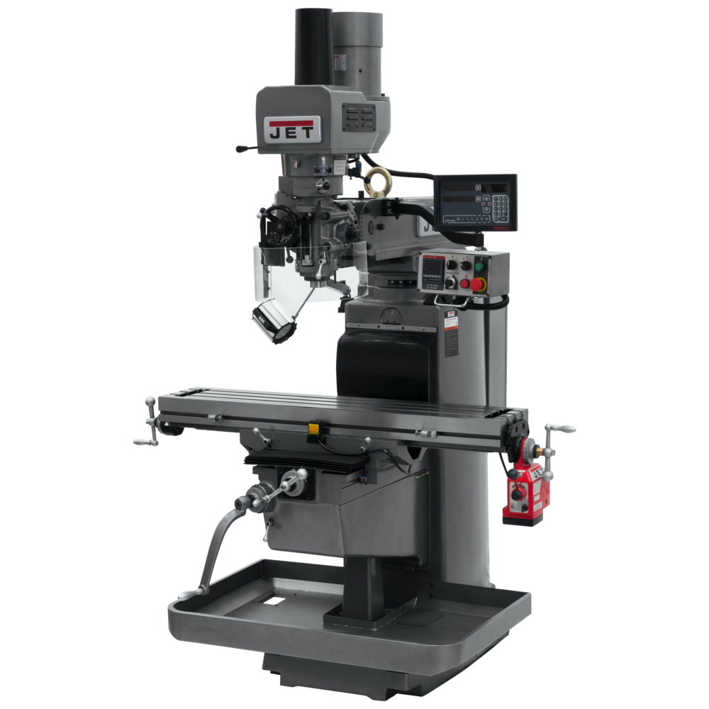 JTM-1050EVS2/230 MILL WITH X AND Y-AXIS POWERFEEDS