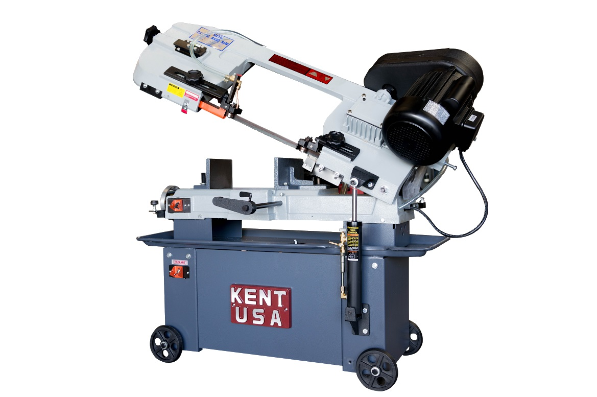 "7"" x 12"" KENT USA W-712 HORIZONTAL BAND SAW - NEW"