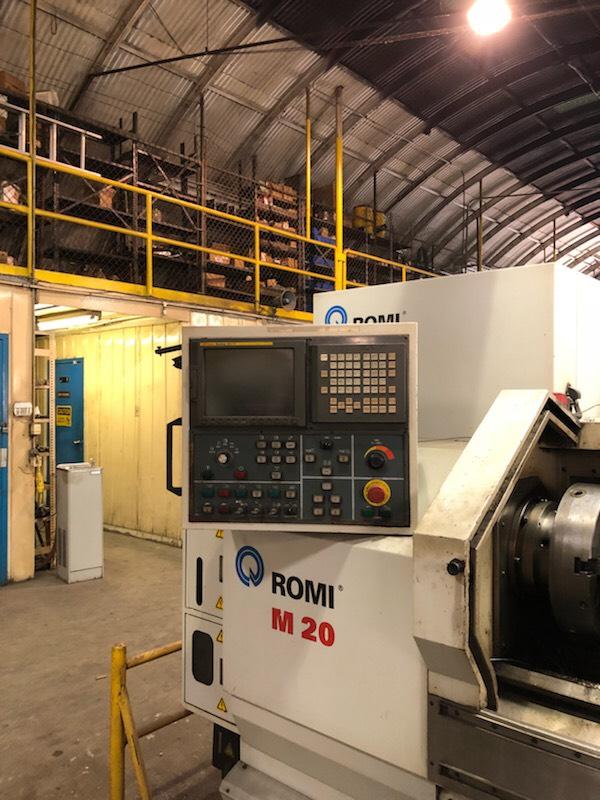 Romi M20 CNC Lathe  NEW-2003