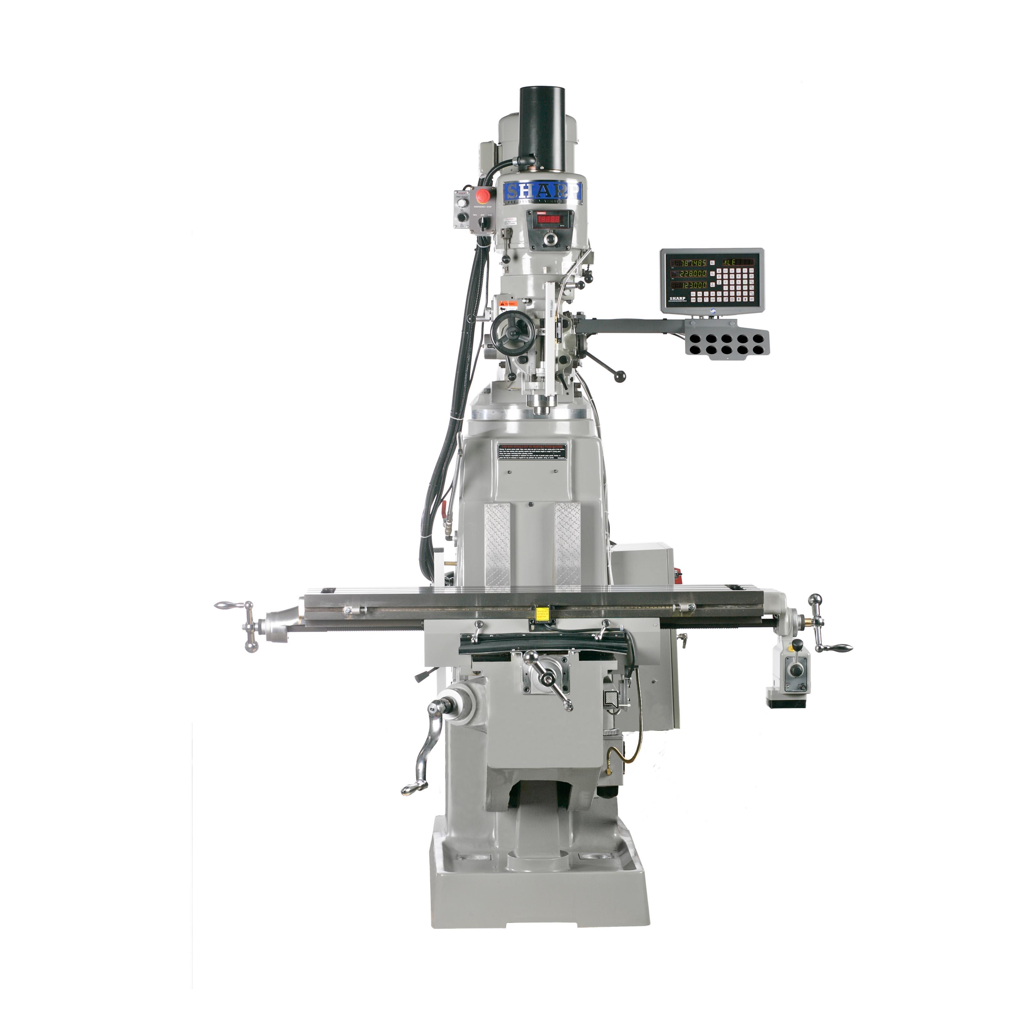 """NEW 10"""" x 54"""" SHARP MODEL TMV-K PREMIUM VERTICAL KNEE MILL"""