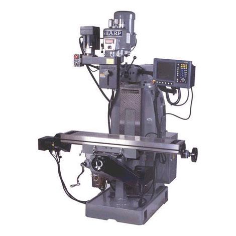 "10"" x 54"" SHARP MODEL TMV/MP-2 2-AXIS CNC KNEE MILL"