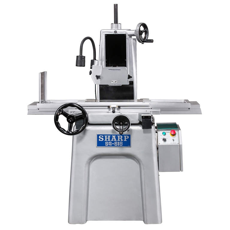 "NEW 6"" x 18"" SHARP SG-618 MANUAL SURFACE GRINDER"